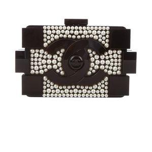 4b2826156fa7 CHANEL Bags | Pearl Lego Brick Clutch | Poshmark